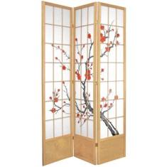 84%22+Cherry+Blossom+Shoji+Room+Divider-wayfair